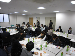 日本政策金融公庫のセミナー風景