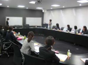 「ふわり」の会議風景