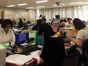 損保ジャパン長崎支店の職場風景
